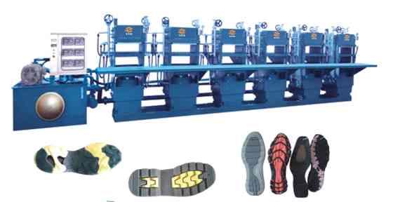 橡胶鞋底自动成型机HM-138