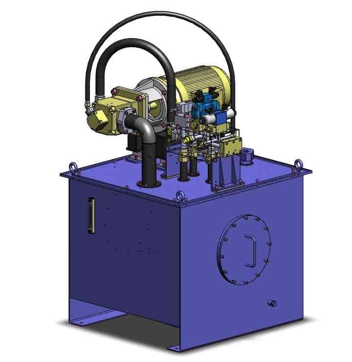 DYWEF全液压打包机液压系统
