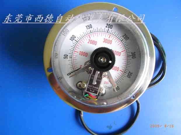 供应台湾电接点压力表