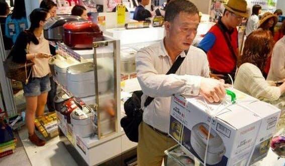 中国游客日本抢马桶盖